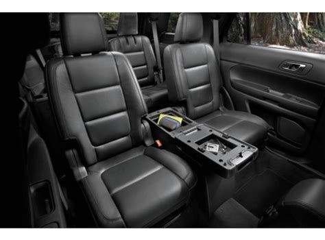 console  row sport charcoalpebble  official site  ford accessories