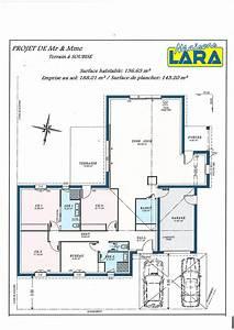 Plan Maison U : plan de maison moderne 5 chambres ~ Dallasstarsshop.com Idées de Décoration