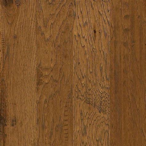 shaw flooring warm sunset shaw western hickory espresso 3 8 in t x 5 in w x random length click engineered hardwood