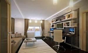 bureau moderne a la maison idees creatives With meuble bar moderne design 8 quel meuble sous escalier choisir archzine fr