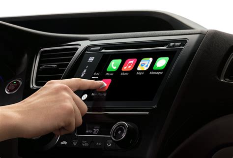 Google And Apple Fight For The Car Dashboard