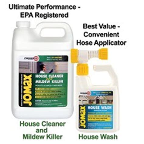 Zinsser Jomax Deck Wash by Zinsser Jomax House Cleaner
