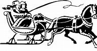 Image result for Free Clip Art of A Sleigh With People and Bells