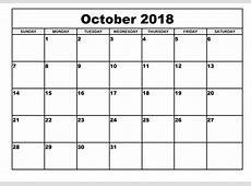 Printable Calendar 2018 Templates Print Calendar Template