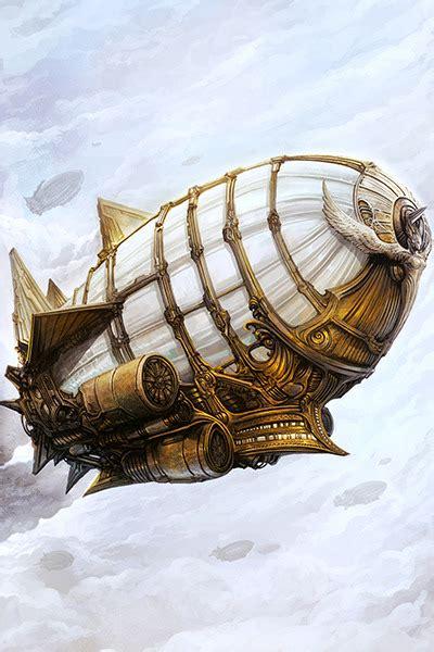 steampunk airship metallic paper  storenvy