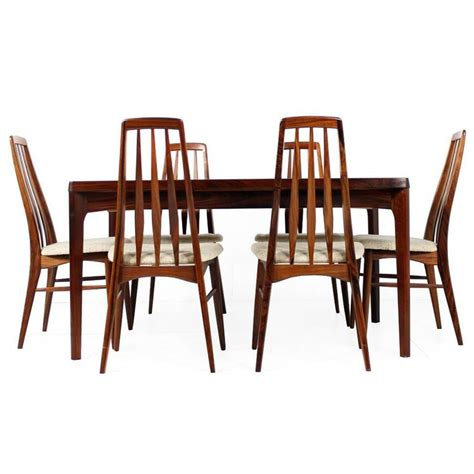 beautiful 1960s rosewood dining table and chairs n
