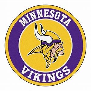 FANMATS NFL Minnesota Vikings Purple 2 ft 3 in x 2 ft 3