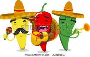 Pepper Mariachi Band Cartoon