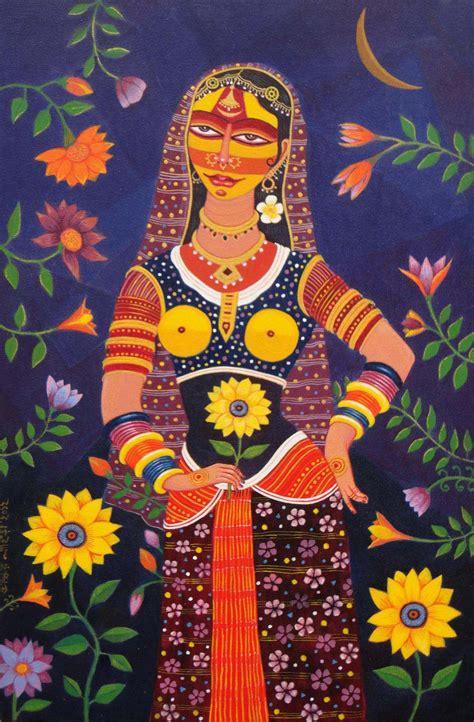 buy authentic modern indian art paintings  bhaskar