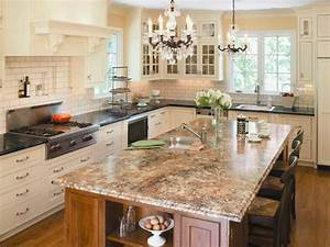 Choosing kitchen countertops hgtv for What kind of paint to use on kitchen cabinets for custom heat resistant stickers