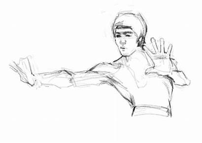 Bruce Lee Dragon Enter Giphy Process Brucelee