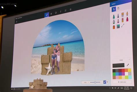 3d Paint : Windows 10's New Paint 3d App Drags Physical Objects Into