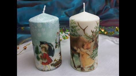 candele decorate  trasferimento  immaginetutorial
