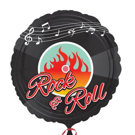 Deko Rock N Roll by Folienballon 50er Jahre Rock N Roll Motto