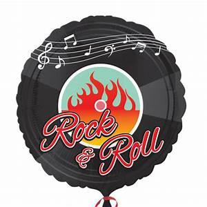 Rock N Roll Deko : folienballon 50er jahre rock 39 n roll motto party ~ Bigdaddyawards.com Haus und Dekorationen