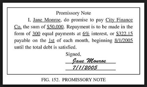printable sample simple promissory note form promissory