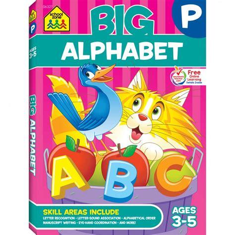 big p k alphabet workbook introduces letters and abcs 118 | 06327 05 17 c2017
