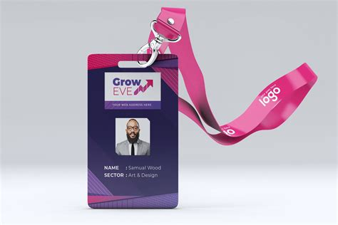 abstract id card design  images card design