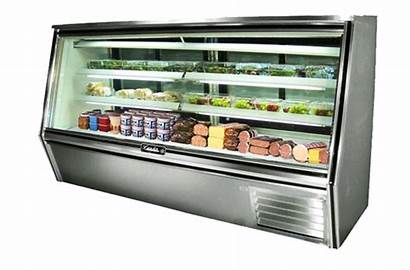 Deli Display Refrigerated Double Leader Case Coils