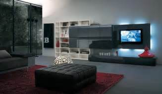 Black And White Living Room Designs Photo
