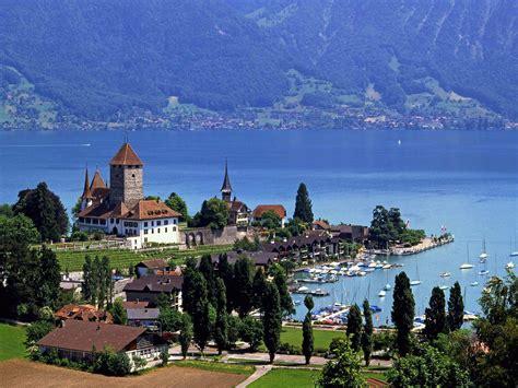Interesting Green Summer Cities In Switzerland