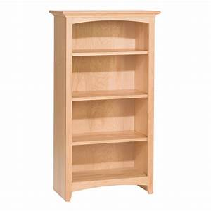"Whittier Wood McKenzie Bookcase Collection - 24"" Wide"