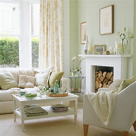 wall paint colour for living room with green furniture