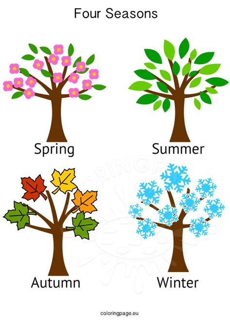 Seasons Clipart | Free download on ClipArtMag