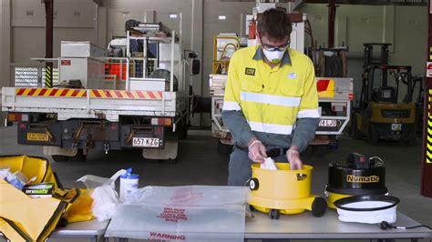 asbestos hepa vacuum cleaner ergon energy youtube