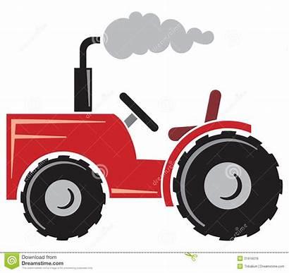 Tractor Clipart Clip Icon Agricultural Symbol Vector