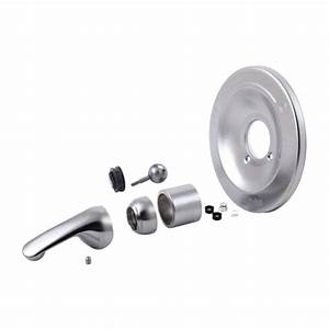 Brushed Nickel Tub  Shower Trim Kits For Delta  Valley  Mixet And More
