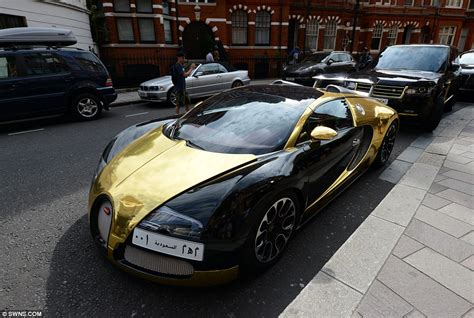 Bugatti On The Streets by Swarovski Encrusted Mercedes Cls 350 Outdoes Arab