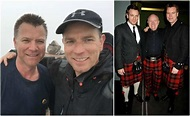 Trainspotting star Ewan McGregor and his private family