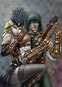 Marvel vs DC steampunk fight. - Battles - Comic Vine  Steampunk