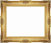 gold picture frames Museum Quality Majestic Gold Wood Picture Frame Ready-made ...