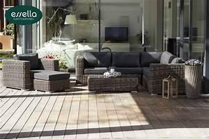 Gartenmöbel Polyrattan : essella polyrattan lounge alabama rundgeflecht ~ Pilothousefishingboats.com Haus und Dekorationen