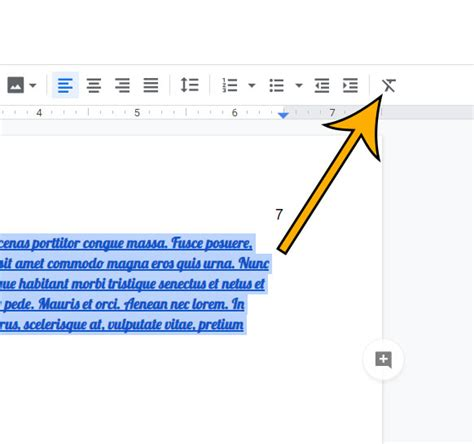 How to Clear Formatting from a Selection in Google Docs ...