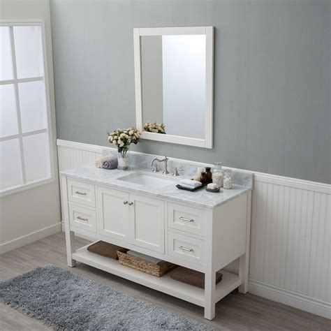 Alya Bath Wilmington 60 in. Single Bathroom Vanity in