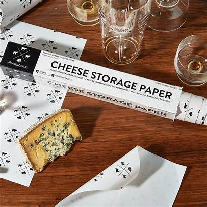 Cheese Paper Storage Formaticum Sell Sheets Table