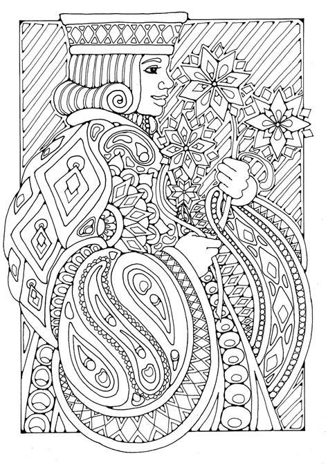 Carnival Costumes coloring page by Dandi Palmer   Dandi