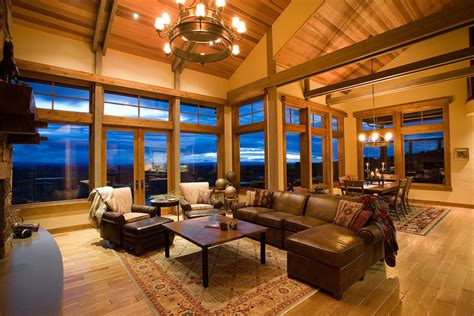 Mountain Mansion  Traditional  Living Room  Portland