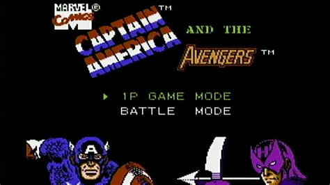 Captain America And The Avengers Nes Gameplay Youtube