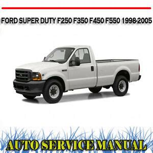 ford super duty       workshop