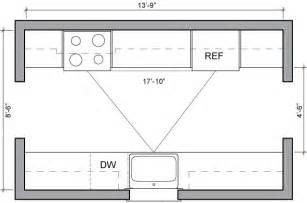 kitchen floor plans islands kitchen floor plans sle kitchen layouts