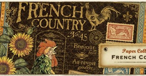 Snc's Cropmmunity New Arrivals!!! Graphic 45 French