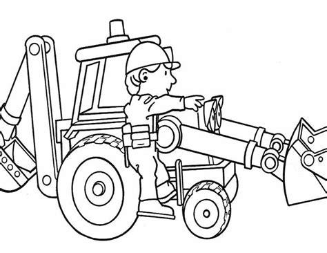 Kleurplaat Bob De Bouwer Mega Machines by Kleuren Nu Bob Lift Mee Met Hector Kleurplaten