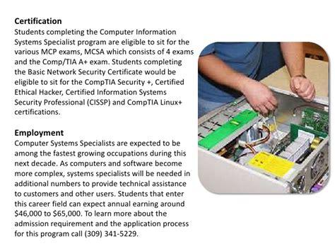 Computer Information System Specialist