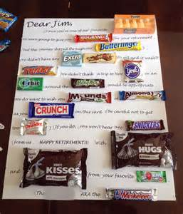 candy bar bouquet retirement gifts on retirement gifts and