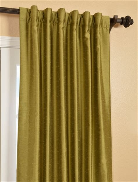 chartreuse curtains drapes buy chartreuse yarn dyed faux dupioni silk curtains