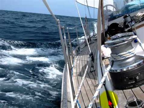 Sailboat Jacklines by How To Use Jacklines For Sailing Safety Youtube